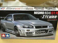 Tamiya 24282 1/24 Scale Model Car Kit Nismo Nissan Skyline GT-R R34 Z-Tune