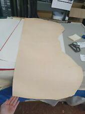 Natural Veg Tan Leather Panel 2.3mm Thickness LOT 1919