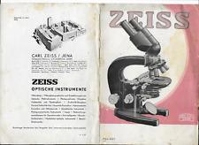 Zeiss      1937    brochure    prospekt