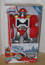 """Transformers Playskool Heroes Rescue Bots 12"""" Heatwave the Fire-Bot Epic Series"""