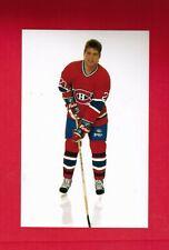 1989 1990  SHANE CORSON  HOCKEY 1 PHOTO POSTCARD TEAM SET MONTREAL CANADIENS