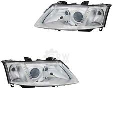 Headlight Set (RIGHT AND LEFT) SAAB 9-3 03-07 Lwr With Motor