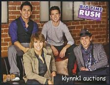 Big Time Rush - 3 POSTERS Centerfolds Lot 1885A Selena Gomez on back