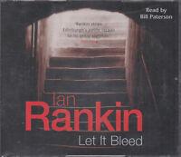 Let it Bleed Ian Rankin 3CD Audio Book Abridged DI Rebus Crime Thriller FASTPOST