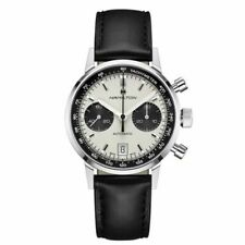 Hamilton American Classic White Men's Watch with Black Leather Band - H38416711