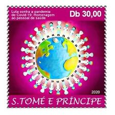 SAO TOME PRINCIPE 2020 - FULL SET 1V - JOINT ISSUE - PANDEMIC - MNH