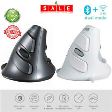 Delux M618 USB Wired Vertical Mouse 5 Buttons 1600DPI Optical Mice for PC Laptop