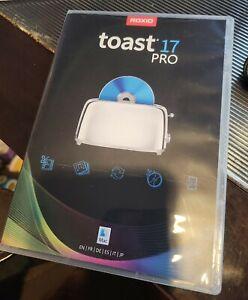 Roxio Toast 17 Pro DVD for Mac EUC!