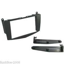 CT23MB14 MERCEDES C CLASS W204 2007 to 2011 BLACK DOUBLE DIN FASCIA ADAPTER