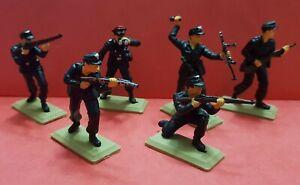 GERMAN PANZER TROOPS WW2 set Argentina  DSG Plastic Soldiers Britains