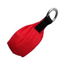 Outdoor Tree Surgery & Climbing Throw Weight Red Bag 8.8oz Wear Resistance