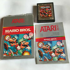 Mario Bros / Boxed With Instructions Atari 2600 Tested & Working / 7800