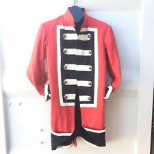 Sargent Peppers Jacket X Revolutionary War Fusion Coat Size: Large  Red & Black