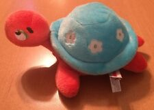 Aurora Orange and Light Blue Turtle Plush