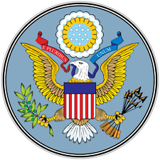 """Great Seal of the United States USA Car Bumper Vinyl Sticker Decal 4.6"""""""