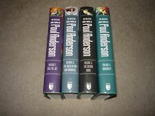 Poul Anderson The Collected Short Works Volumes 1-4 Nesfa Press 1st Edition