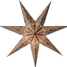 Starlightz Stern Kashmir braun Leuchtstern Papierstern Faltstern Lampe