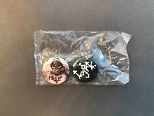 Bjork Medulla Pin Button Badge Lot of 2 Rare Official Pro