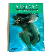 Nirvana Nevermind Japan Photo & Story Book 1996 Kurt Cobain Dave Grohl Sub Pop n