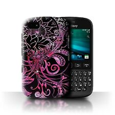 STUFF4 Phone Case for Blackberry Smartphone/Henna Paisley Flower/Cover