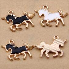Black /Horse Unicorn Charm Pendant Accessories Fashion Jewelry Making Craft 1101