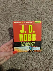 Audiobook CD Audio Set, J.D. ROBB - DELUSION IN DEATH   ABRIDGED (AB-470)