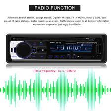 Auto Car Bluetooth Stereo Audio FM Radio Hands-free AUX USB MP3 Music Player