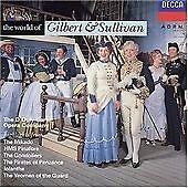 Arthur Sullivan - World of Gilbert & Sullivan (CD 1991)