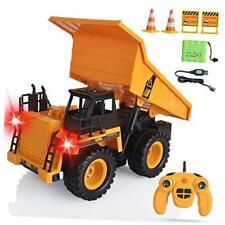Remote Control Dump Trucks Rc Dump Trucks Rc Construction Vehicles Toys 6 Ch