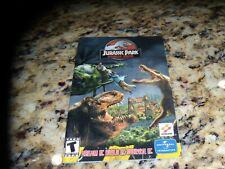 Jurassic Park Operation Genesis PC Manual - No Game