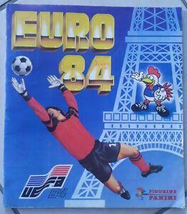 Album Panini Euro 84 Presque Complet (il manque 27 vignettes) 1984