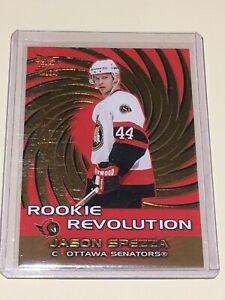 2003-04 Prism Rookie Revolution Jason Spezza & 2016-17 UD Young Guns Jimmy Vesey