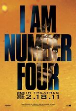 ALEX PETTYFER I AM NUMBER 4 #2 27X41 AUTHENTIC DOUBLE SIDED THEATRE POSTER