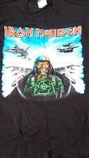 Iron Maiden TEXAS EVENT SHIRT RARE Harris Motorhead Lemmy Kiss Poison Cooper BOC