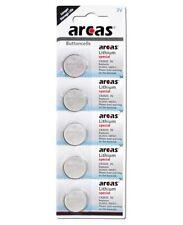 10 x Arcas Batterie CR2025 Lithium 3V Knopfbatterie CR 2025 NEU OVP