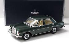 1:18 Norev Mercedes 280SE 1968 green NEW bei PREMIUM-MODELCARS