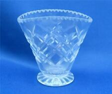 Webb CRISTALLO ventaglio in miniatura posy vase