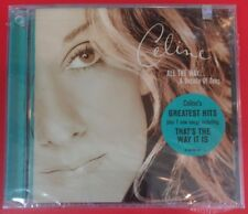 "ALL THE WAY: A DECADE OF SONG by CELINE DION (CD, 1999 - USA - Epic) ""BRAND NEW"""