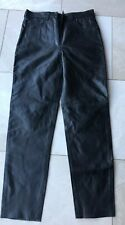 LADIES  BLACK SHEEP LEATHER SOFT JEANS TROUSERS