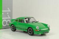1973 Porsche 911 Carrera RS 2.7 grün 1:18 Welly