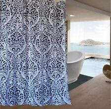 Black & white Damask pattern shower curtain 2m new free shipping