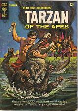 Tarzan Comic Book #150, Gold Key Comics 1965 VERY GOOD+