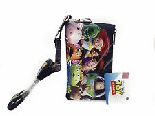 Disney Toy Story ID Holder Lanyards with Detachable Coin Purse - Black