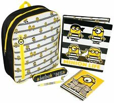 Minions Despicable Me 3 Filled School Backpack Stationary Set
