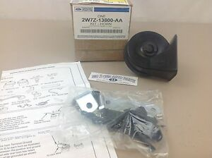 Ford Focus Super Duty Ranger High Pitch HORN Assembly new OEM 2W7Z-13800-AA