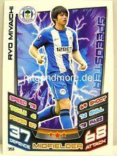 Match Attax 2012/13 Premier League - #351 Ryo Miyaichi - Wigan Athletic