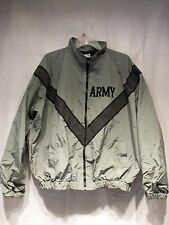 IPFU Military Issue Men's Army Jacket Windbreaker Embroidered ARMY Logo Sz MED