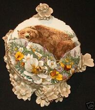 Bev Doolittle Bugged Bear Porcelain Box