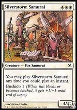 2x Samurai Argentovivo - Silverstorm Samur MTG MAGIC BoK Ita
