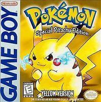 Pokémon Yellow Version: Special Pikachu Edition (Game Boy, 1999)